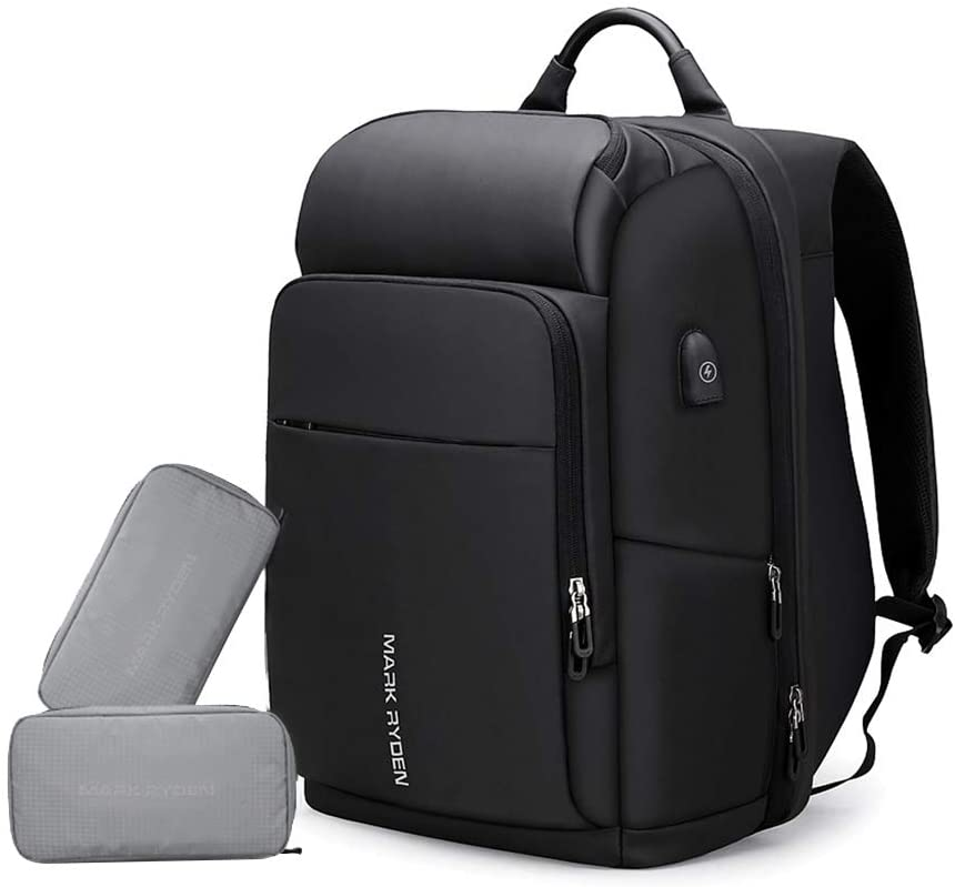 Decdeal MARK RYDEN Large Capacity Anti-Thief Multifunctional Business Laptop Bag Waterproof USB Charging Outdoor Men Backpack With 2 Custom Parcel