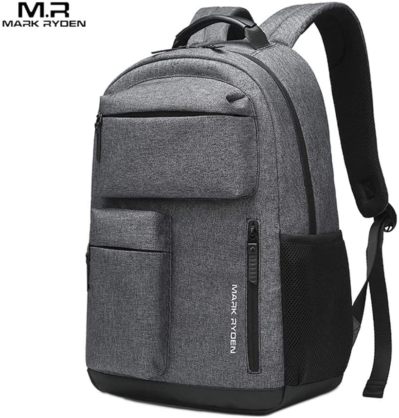 MARK RYDEN Portable New Outdoor Waterproof Nylon Knapsack Male Business Multi-Function Monolayer Travel Laptop Bag