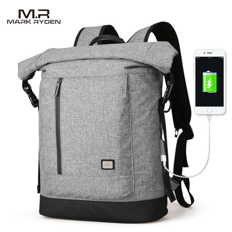 Mark Ryden 2020 Новый USB рюкзак с подзарядкой подходит для 15,6 дюймового ноутбука рюкзак большой емкости для путешествий
