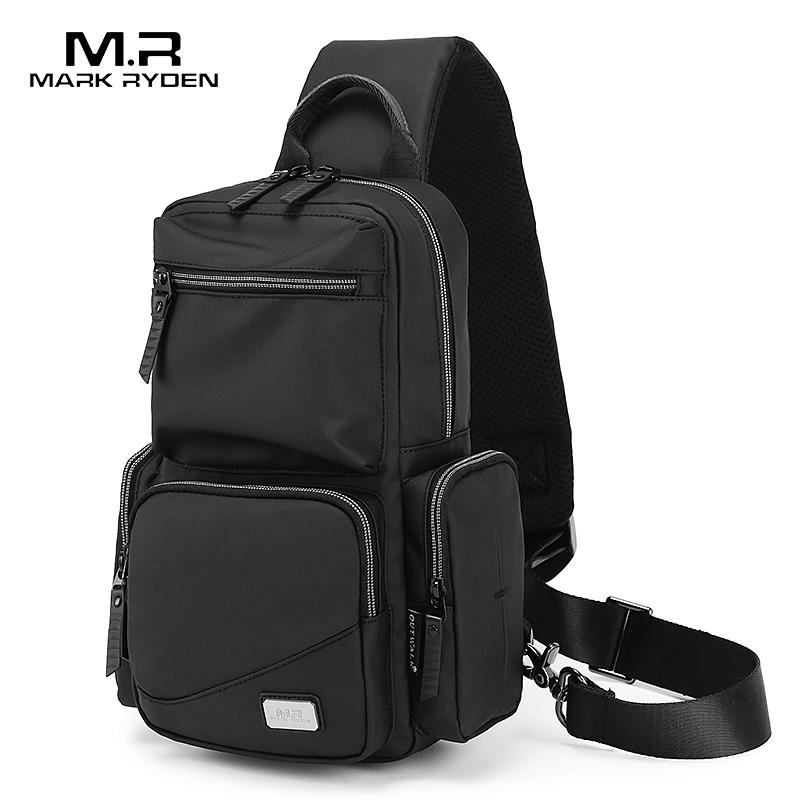Mark Ryden, мужские сумки через плечо, мессенджер, противоугонные мужские сумки на плечо, сумки на ремне, нагрудная сумка, школьная on AliExpress