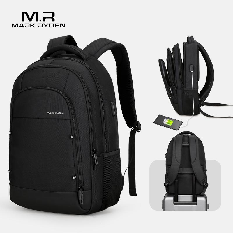 Mark Ryden, мужской многофункциональный рюкзак с USB подзарядкой, подходит для 15,6 дюймового ноутбука, повседневные рюкзаки для мужчин, Mochila