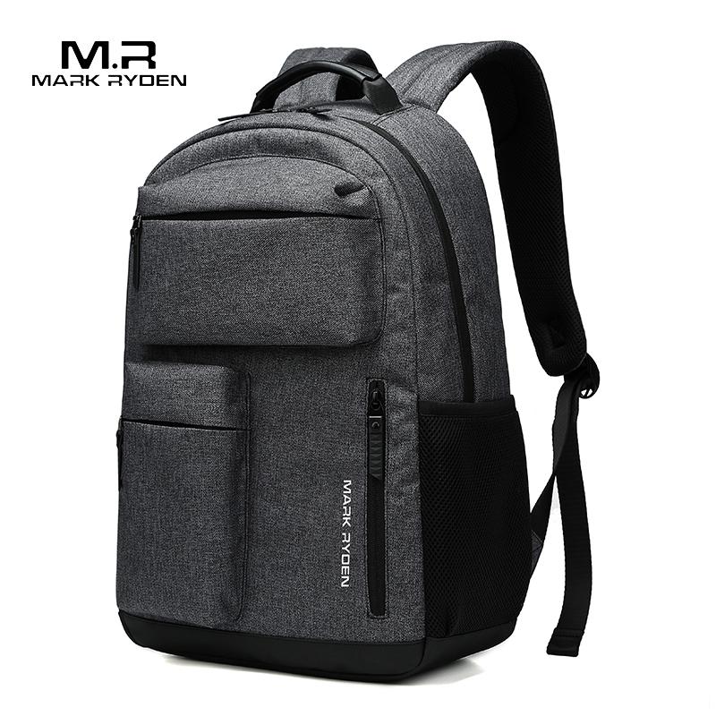 Mark Ryden мужской рюкзак, многофункциональный, 15,6 дюймов, рюкзаки для ноутбука, мужской большой емкости, школьные сумки