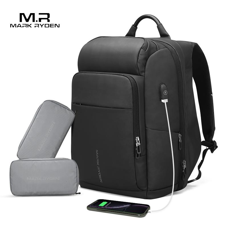 Mark Ryden мужской рюкзак многофункциональный usb зарядка 17 дюймов Сумка для ноутбука большая емкость водонепроницаемые дорожные сумки для мужчин