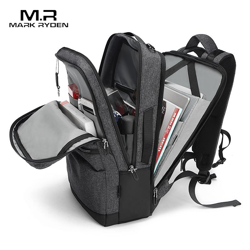 Mark Ryden, мужской рюкзак с защитой от кражи, 15,6 дюймов, для ноутбука, Подростковые Сумки, школьная сумка, мужская сумка, Mochila, большая ВМЕСТИТЕЛЬНОСТЬ