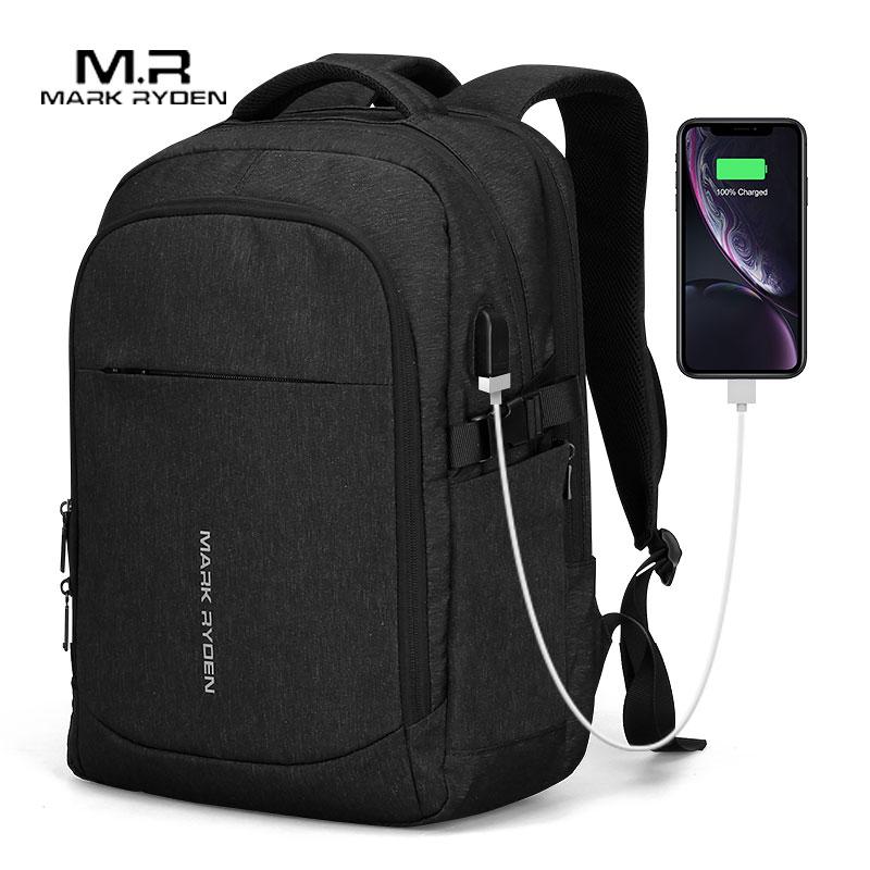 Mark Ryden, новинка 2020, мужской рюкзак, многофункциональный, с usb зарядкой, 15 дюймов, для ноутбука, мужские сумки, модный, мужской, Mochila, рюкзак для путешествий