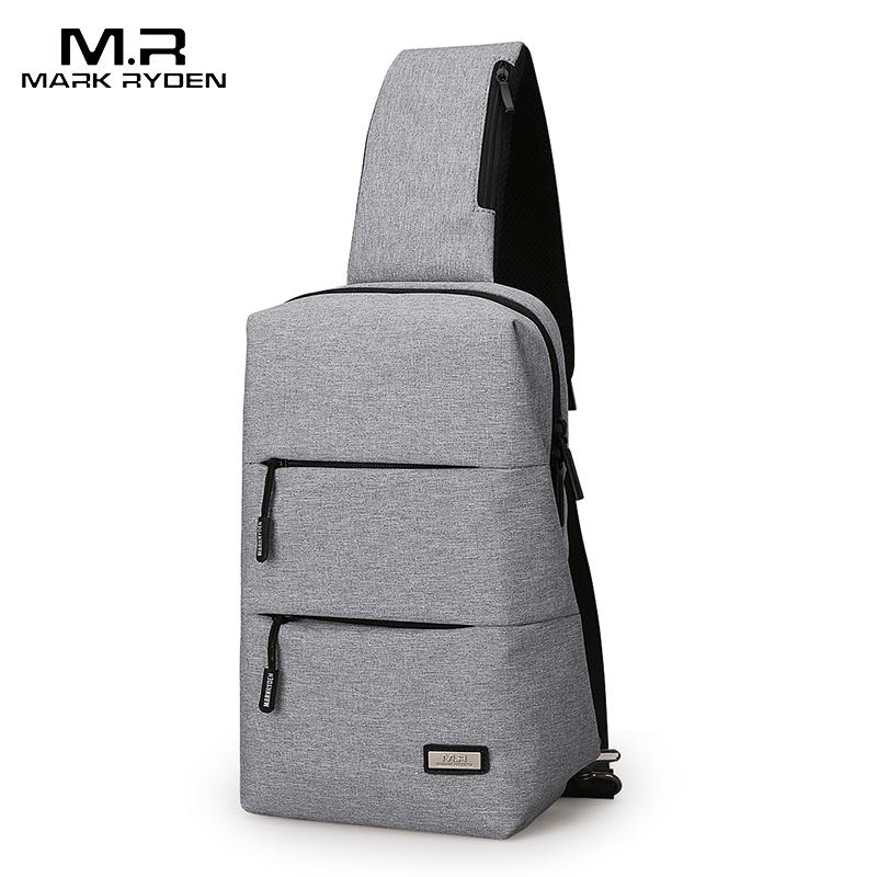 Mark Ryden, новинка 2020, сумки через плечо, Мужская нагрудная сумка для коротких поездок, мужская сумка мессенджеры, горячая летняя сумка через плечо