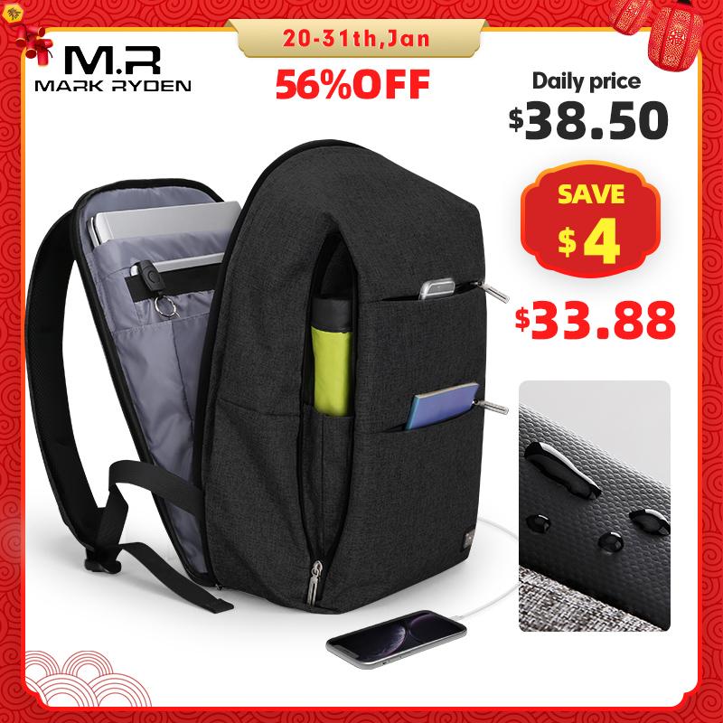 Mark Ryden, новинка, мужской рюкзак для 15,6 дюймов, рюкзак для ноутбука, большой объем, потрясающий рюкзак, повседневный стиль, сумка, водоотталкивающая