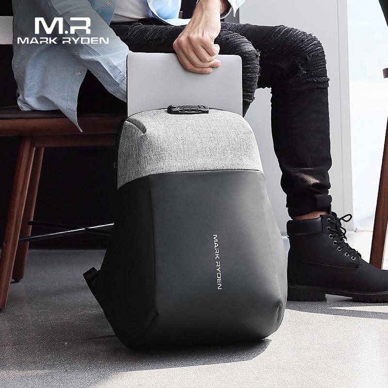 Mark Ryden, новинка, рюкзак для ноутбука с защитой от воровства, USB, для подзарядки, жесткая оболочка, без ключа, TSA, таможенный замок, дизайн, рюкзак для мужчин, рюкзак для путешествий