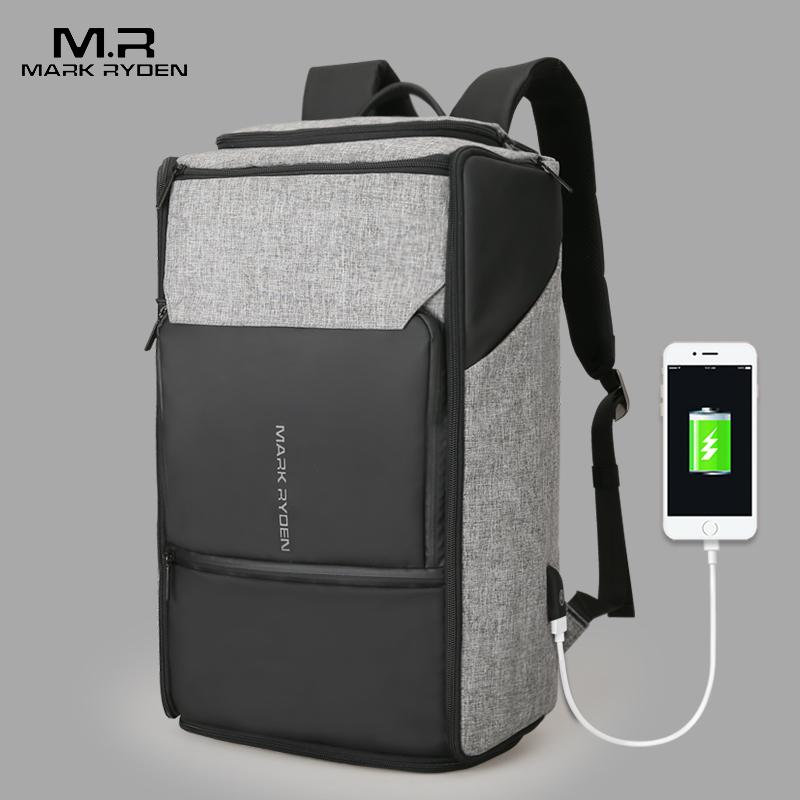 Mark Ryden, новинка, USB, для подзарядки, большой емкости, рюкзак, 180 градусов, дорожная сумка, подходит для 17,3 дюймового ноутбука, новый дизайн, сумка