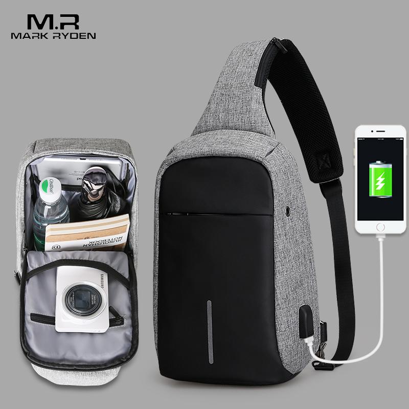 Mark Ryden, Новое поступление, сумки через плечо, мужские, противоугонные, нагрудные, летние, короткие, для путешествий, мессенджеры, сумка, водоотталкивающая, сумка на плечо