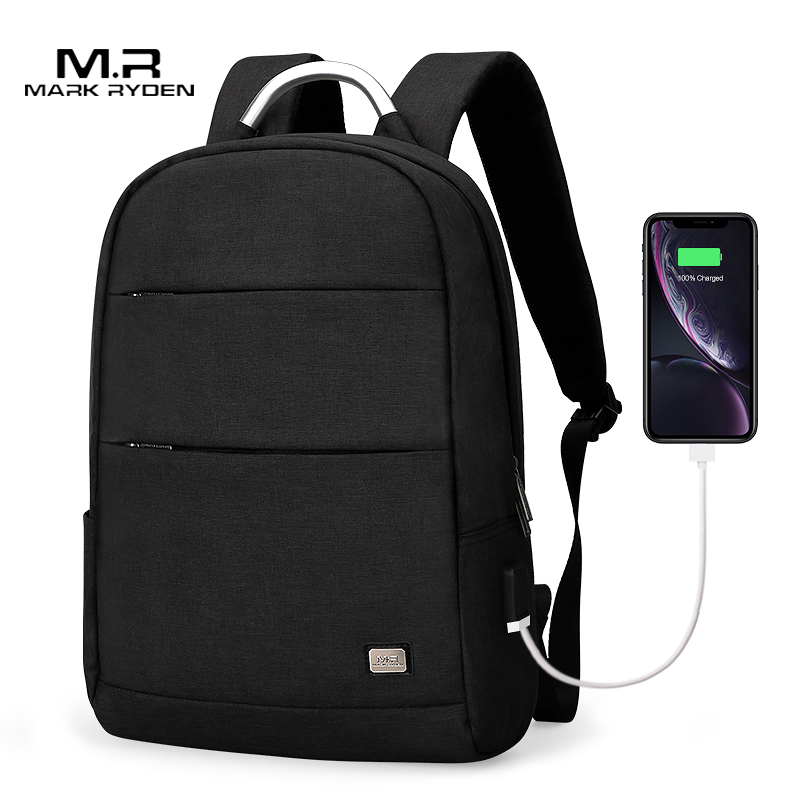 Mark Ryden Новое поступление Usb подзарядка Анти Вор рюкзак водонепроницаемый два размера Модная Портативная сумка для мужчин