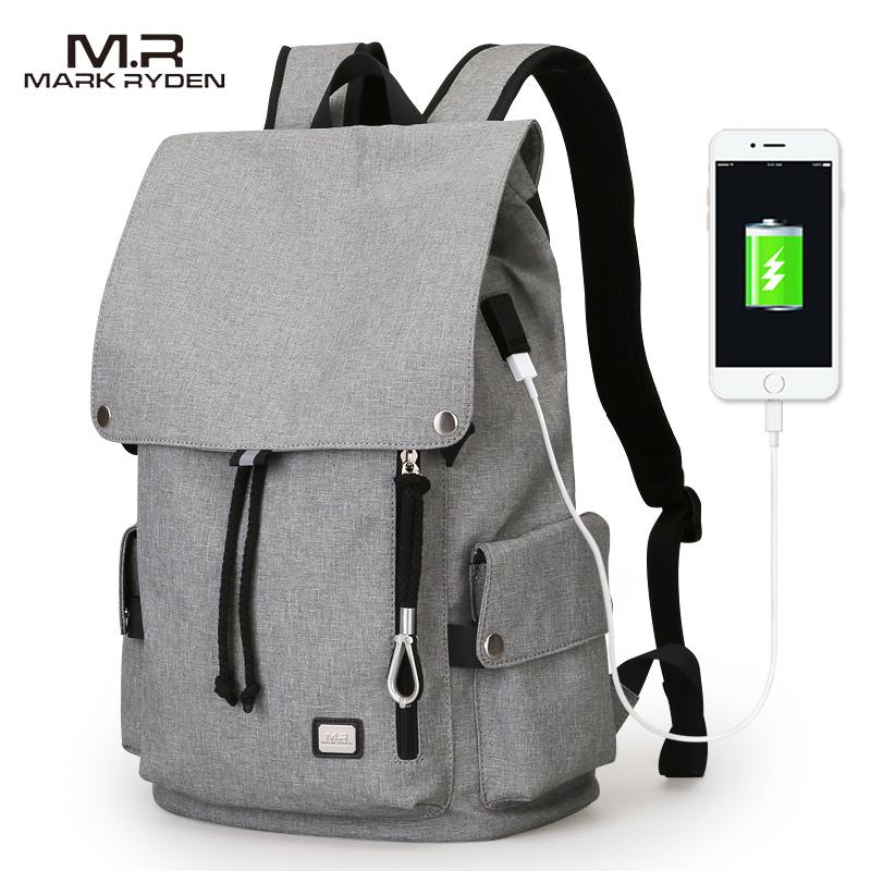 Mark Ryden новый мужской рюкзак сумка Большая вместительная сумка для студентов школьная сумка водоотталкивающий короткий рюкзак