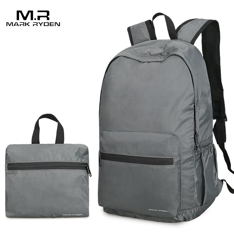 Mark Ryden, складной мужской рюкзак, 14 дюймов, нейлоновый, мужской рюкзак, легкая сумка, сумка для воды, сумка для путешествий, сумки для хранения