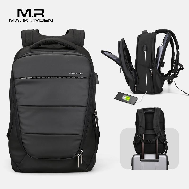 Марка Райден мужские рюкзаки Mochila для ноутбука 15 дюймов мужские USB подзарядки водоотталкивающие деловые сумки