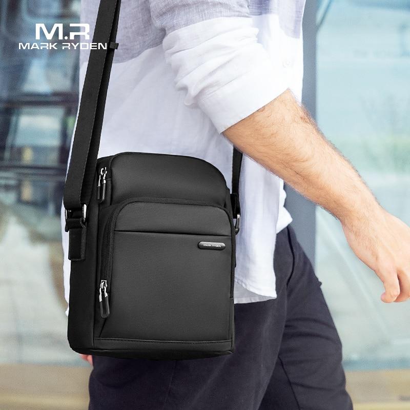 Мужская сумка мессенджер Mark Ryden, винтажная Повседневная сумка через плечо, 2019| | | АлиЭкспресс