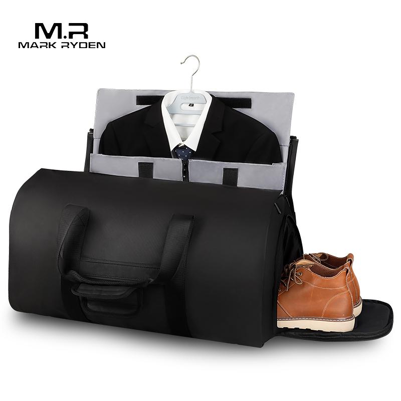Мужская Дорожная сумка Mark Ryden, вместительная многофункциональная водонепроницаемая сумка вещевой мешок для путешествий, ручная сумка с чехлом для обуви|Дорожные сумки| | АлиЭкспресс