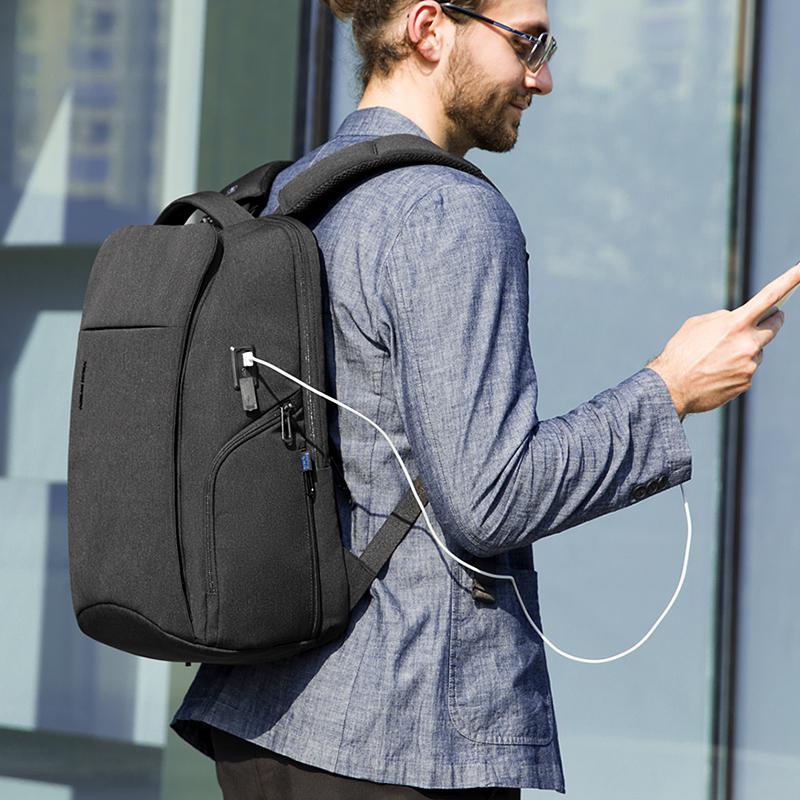 Мужской рюкзак на молнии Mark Ryden, водонепроницаемый рюкзак с технологией RFID для ноутбука 15,6 дюйма, плащ рюкзак с демпфирующим плечевым ремнем, 2020|Рюкзаки| | АлиЭкспресс